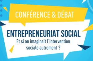 Read more about the article Conférence et débat : Entrepreneuriat social