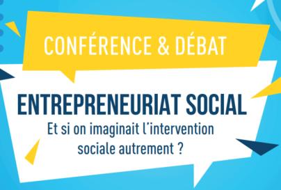 Conférence et débat : Entrepreneuriat social