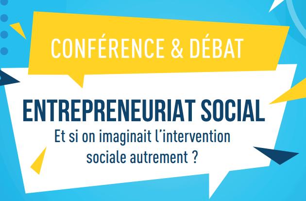 You are currently viewing Conférence et débat : Entrepreneuriat social